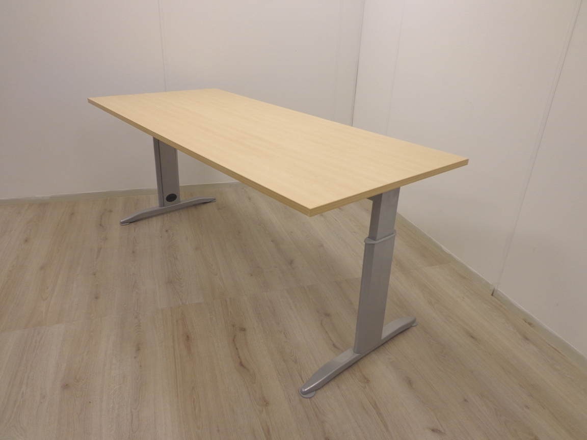 Bureau 180x80 cm rechthoekig model for Bureau 180 cm