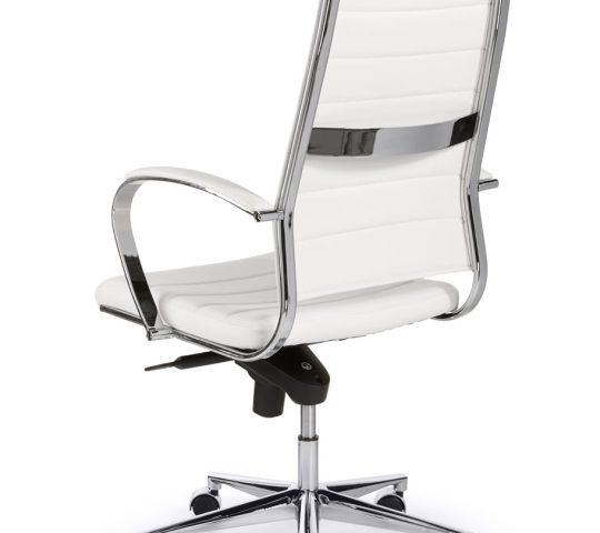 Witte bureaustoel great witte bureaustoel with witte for Design stoel wit