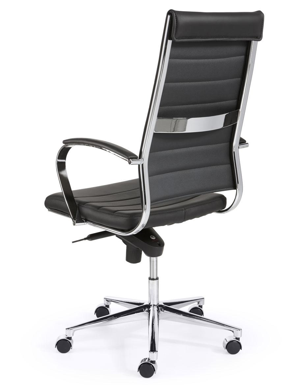 Hoge Bureau Stoel.Design Bureaustoel Hoge Rug In Zwart Bureaustoel Nu