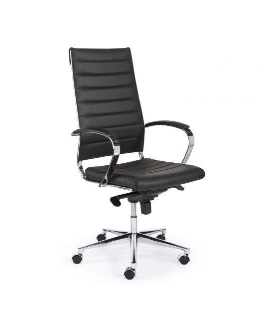 Bureaustoel Zwart Design.Design Bureaustoel Hoge Rug In Zwart Bureaustoel Nu