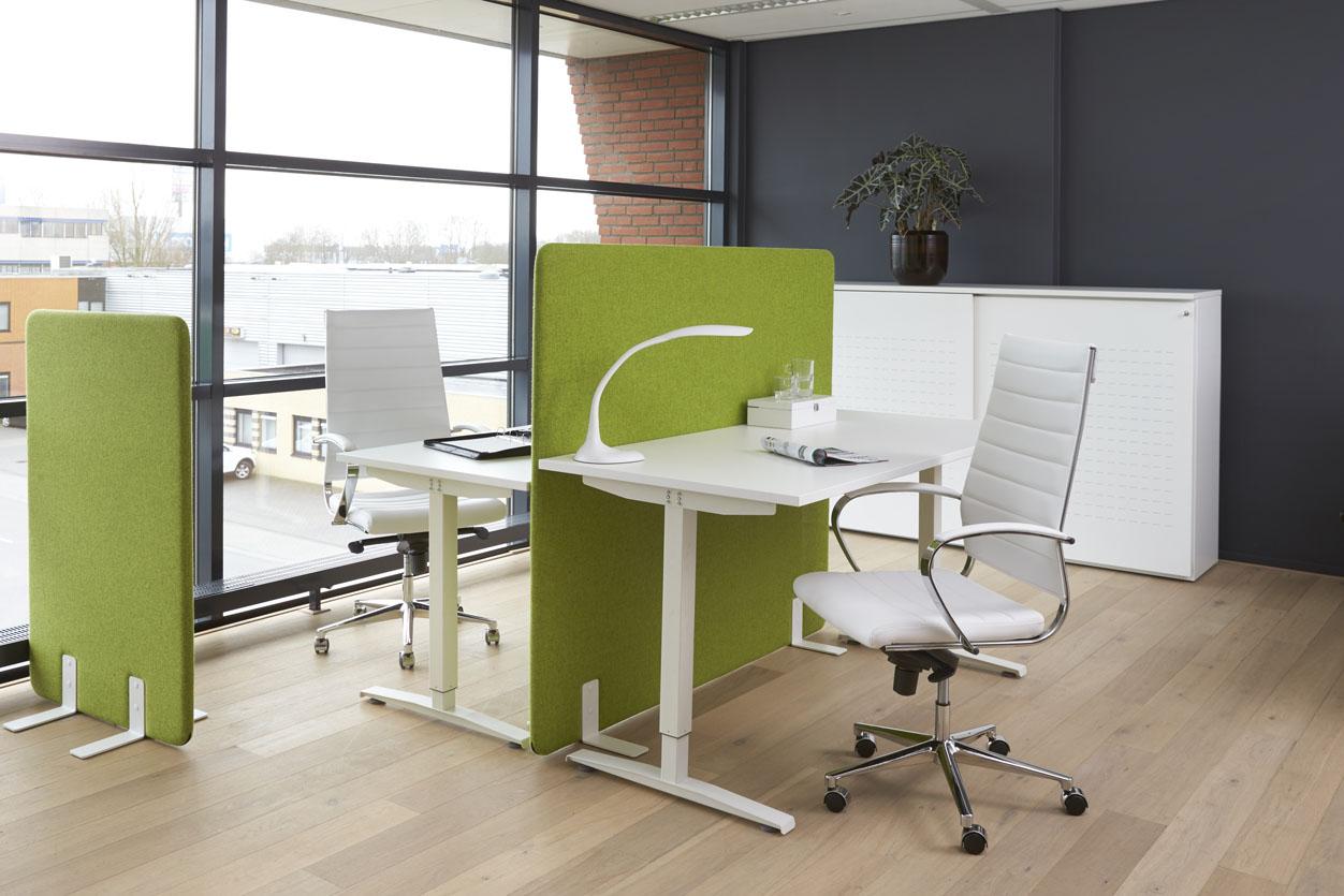 Elektrisch zit sta bureau 160x80 cm for Bureau zit sta