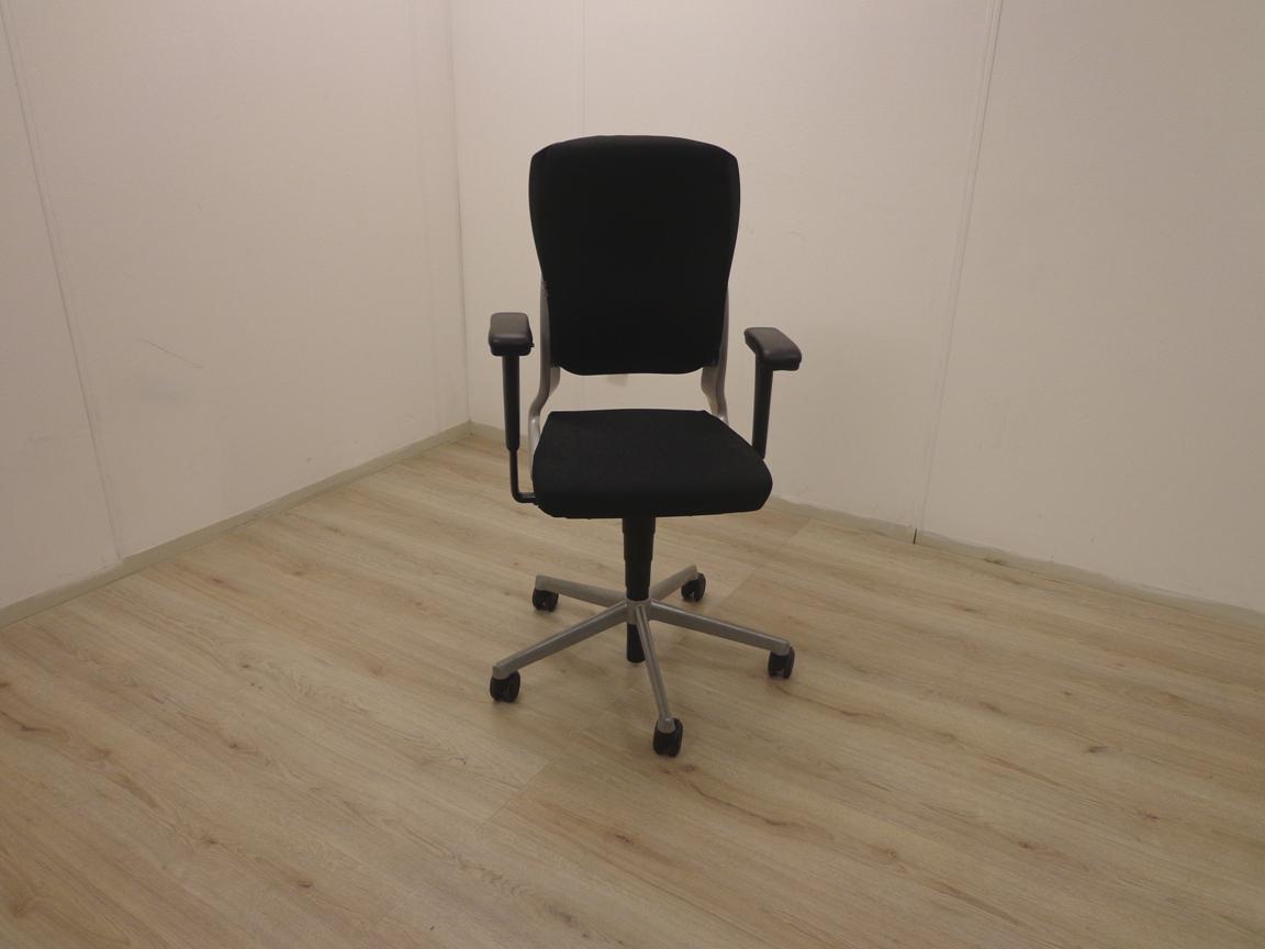 Ahrend 230 Bureaustoel Zwart.Bureaustoel Ahrend 230 Met Grijs Nieuw Zwart Gestoffeerd