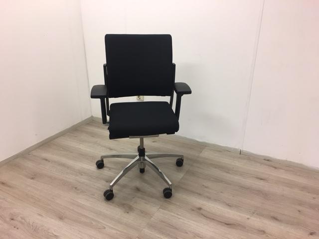 Fijne Zwarte Bureaustoel.Bureaustoel Sitag World Nieuw Zwart Gestoffeerd