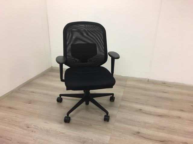 bureaustoel vitra medapal zwart gestoffeerd. Black Bedroom Furniture Sets. Home Design Ideas