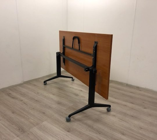 Bureaustoel Vaste Poten.Vergadertafel Ovaal 230x110cm Met Witte Poten